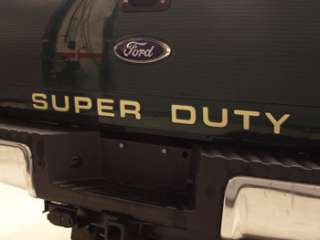 Ford F350 Super Duty Tailgate Letters Inserts Stickers