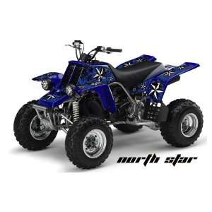 AMR Racing Yamaha Banshee 350 ATV Quad Graphic Kit   Northstar Blue