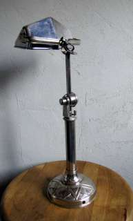 FRENCH ART DECO BAUHAUS PIROUETT desk lamp
