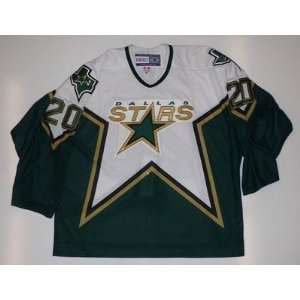 Ed Belfour Dallas Stars Ccm Authentic Jersey #20 Size 56 Fight Strap