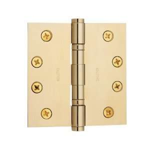 Hardware 4 x 4 x .130 Solid Brass Full Mortise Ball Bearing H