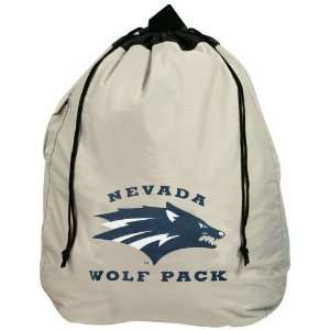 Nevada Wolf Pack Heavy Duty Drawstring Laundry Bag Sports
