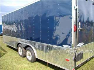 NEW 2012 Elite Series 8.5 x 24 Enclosed Cargo Carhauler Trailer