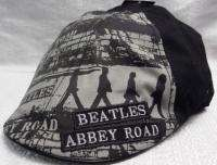 THE BEATLES Abbey Road Embroidered Logo Fitted Ivy Cap HAT Adult Size