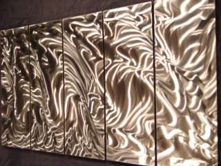 ABSTRACT METAL WALL ART PAINTING SCULPTURE STEEL LARGE