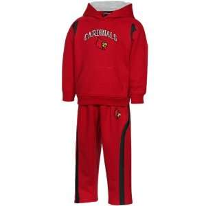 adidas Louisville Cardinals Infant Red Game Ready Fleece