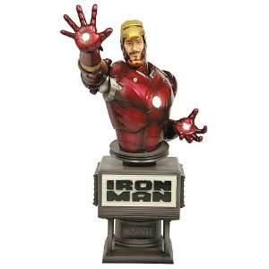 Iron Man Movie Tony Stark Mark III Armor Fine Art Bust