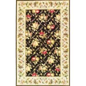 KAS COL1741 Colonial Ivory Summer Fruits Rug Furniture