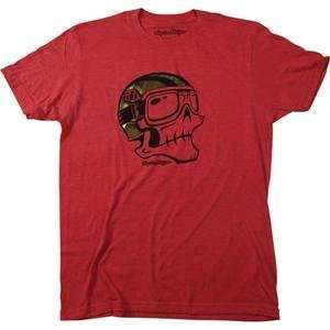 Troy Lee Designs Goldie Slim Fit T Shirt   Large/Red