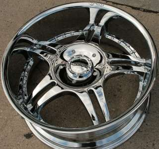 VINCI VENTO 20 CHROME RIMS WHEELS CHRYSLER ASPEN DAKOTA