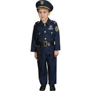Police Officer Deluxe Toddler Costume Health & Personal