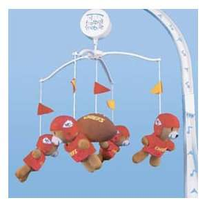Kansas City Chiefs NFL Football Infant BABY MOBILE Shower
