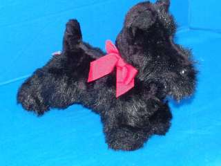 DOUGLAS BLACK SCOTTISH TERRIER PUPPY DOG PLUSH STUFFED ANIMAL TOY
