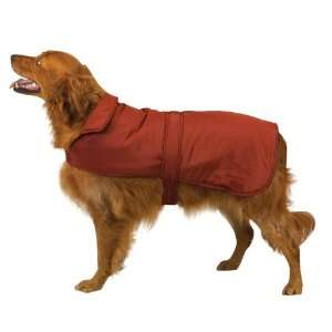 Canine Polyester Fleece Barn Dog Coat, Medium, Barn Red