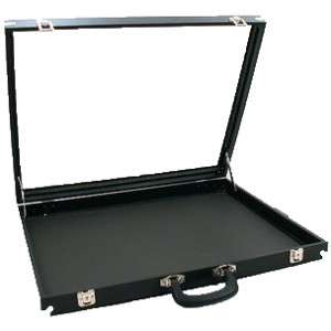 Glass Top Travel Display Case 30 x 17 1/2 Swap Meet