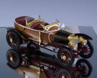 Franklin Mint Die cast car 1911 Mercedes Woodbody Skuff by Labordette