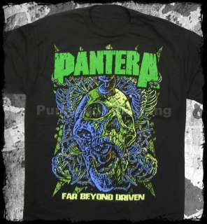 Pantera far beyond driven official t shirt heavy metal