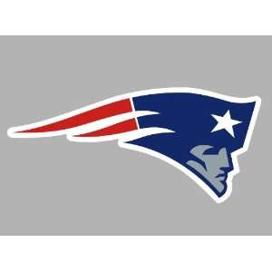 New England Patriots Auto Car Wall Decal Sticker 3.75 X 8