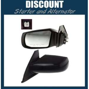 New Driver Side Mirror LH 2008 2009 Nissan Altima, Power, Non Heated
