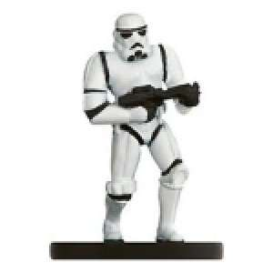 Wars Miniatures Stormtrooper # 41   The Force Unleashed Toys & Games