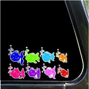 Fish Family Car Decals Stickers Stick Family