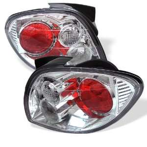 00 02 Hyundai Tiburon Euro Taillights   Chrome Automotive