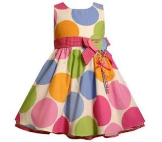 Bonnie Jean Toddler Girls Polka Dot Balloon Birthday Party Boutique