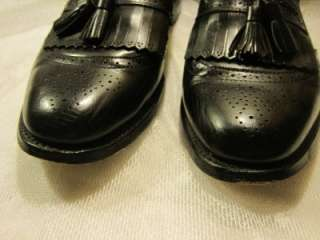 Allen Edmonds Bradenton Mens BLACK Dress Loafers Shoes 9.5D