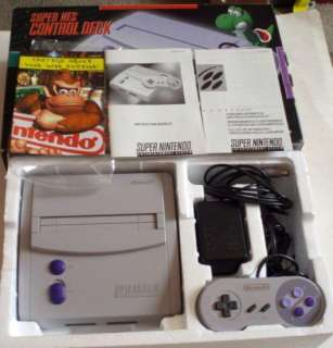 1997 Super Nintendo Entertainment System Super NES SNS 101 Mini