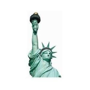Statue of Liberty Die Cut Photographic Magnet Kitchen