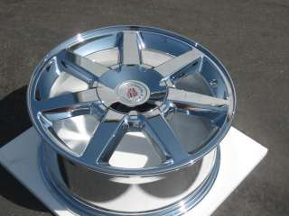17 FACTORY GM CADILLAC STS CTS OEM CHROME WHEEL RIM   1 FRONT 17x7.5