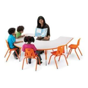 Jonti Craft KYDZ ACTIVITY TABLE   HORSESHOE   66 x 60, 15   24 HT