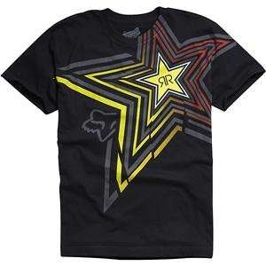 Fox Racing Rockstar Spike Vortex T Shirt   Medium/Black