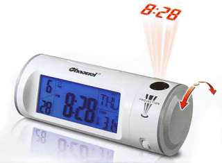 Sound Voice Control Backlight Projection Alarm Clock