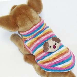 Color Bear Sweater Outfit Pet Appareal dog clothes APPAREL Chihuahua