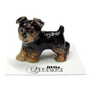 YORKSHIRE TERRIER Puppy Dog Smoky New Figurine MINIATURE