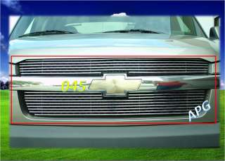 02 06 05 Chevy Avalanche W/Cladding Billet Grille 04