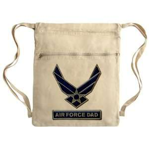 Messenger Bag Sack Pack Khaki Air Force Dad Everything