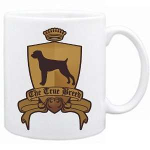 German Wirehaired Pointer   The True Breed  Mug Dog