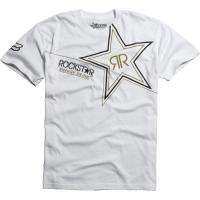 Fox Racing Rockstar Energy Mens Golden T Shirt MX Motoc MTB Clothing
