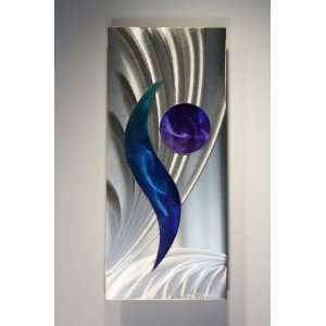 Metal Wall Art Painting Sculpture, Design by Wilmos Kovacs