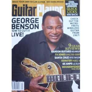 Guitar Player Magazine George Benson March 2010