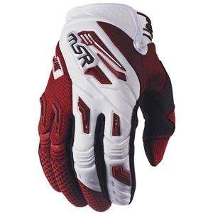 MSR Racing Renegade Gloves   Large/White/Brick Automotive