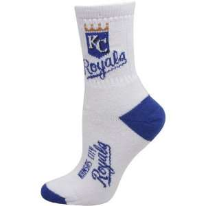 MLB Kansas City Royals Ladies White Royal Blue Dual Color