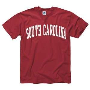 South Carolina Gamecocks Cardinal Arch T Shirt Sports