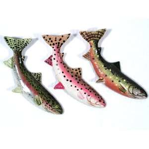 Trout Rainbow Trout Fish Refrigerator Magnet (Set Of 12) Home