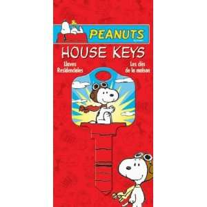 Peanuts   Flying Ace House Key Schlage SC1