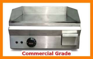 12 inch X16 Stainless Steel Electric Griddle Commercial