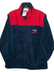 New England PATRIOTS NFL TEAM Womens FLEECE JACKET 1X