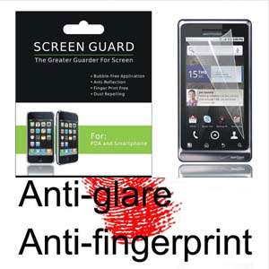 Motorola A955 DROID 2 Anti Glare/Fingerprint Screen